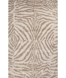 RugStudio presents Jaipur Rugs En Casa By Luli Sanchez Zebra Ikat Lst24 White/Silver Gray Hand-Tufted, Good Quality Area Rug