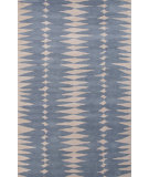 RugStudio presents Jaipur Rugs En Casa By Luli Sanchez Tear Drops Lst26 Milky Blue/Dark Ivory Hand-Tufted, Good Quality Area Rug