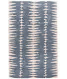 RugStudio presents Jaipur Rugs En Casa By Luli Sanchez Tear Drops Lst27 Deep Blue/Dark Ivory Hand-Tufted, Good Quality Area Rug