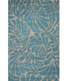 RugStudio presents Jaipur Rugs En Casa By Luli Sanchez Swirls Lst28 Silver/Capri Hand-Tufted, Good Quality Area Rug