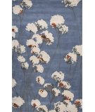 RugStudio presents Jaipur Rugs En Casa By Luli Sanchez Cotton Blossom Lst32 Silver Lake Blue Hand-Tufted, Good Quality Area Rug