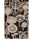 RugStudio presents Jaipur Rugs En Casa By Luli Sanchez Mushrooms Lst39 Deep Charcoal Hand-Tufted, Good Quality Area Rug