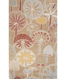 RugStudio presents Jaipur Rugs En Casa By Luli Sanchez Mushrooms Lst40 Sand Hand-Tufted, Good Quality Area Rug