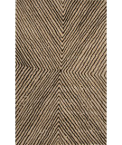 RugStudio presents Jaipur Rugs En Casa By Luli Sanchez Concentric Lst42 Sand/Deep Charcoal Hand-Tufted, Good Quality Area Rug