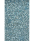 RugStudio presents Jaipur Rugs En Casa By Luli Sanchez Stipple Flower Lst46 Capri/Sea Mist Green Hand-Tufted, Good Quality Area Rug