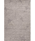 RugStudio presents Jaipur Rugs En Casa By Luli Sanchez Stipple Flower Lst47 Medium Gray/White Hand-Tufted, Good Quality Area Rug