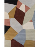 RugStudio presents Jaipur Rugs En Casa By Luli Sanchez Faceted Lst49 Milky Blue/Spa Blue Hand-Tufted, Good Quality Area Rug