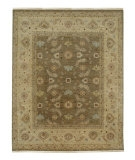RugStudio presents Jaipur Rugs Biscayne Lyon BS15 Gray Brown/Sand Hand-Knotted, Good Quality Area Rug