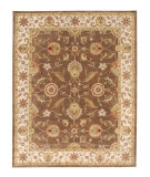 RugStudio presents Jaipur Rugs Mythos Maia MY01 Cocoa Brown/Dark Ivory Hand-Tufted, Better Quality Area Rug