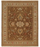 RugStudio presents Jaipur Rugs Jaimak Margara JM16 Cocoa Brown/Soft Gold Hand-Knotted, Good Quality Area Rug