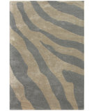 RugStudio presents Jaipur Rugs Midtown By Raymond Waites Animal Instinct Md09 Silver Hand-Tufted, Good Quality Area Rug
