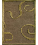 RugStudio presents Jaipur Rugs Midtown By Raymond Waites Curled Up Md14 Gray Brown Hand-Tufted, Good Quality Area Rug
