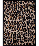 RugStudio presents Jaipur Rugs Midtown By Raymond Waites Wild Thing Md20 Soft Gold / Ebony Hand-Tufted, Good Quality Area Rug