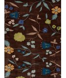 RugStudio presents Jaipur Rugs Midtown By Raymond Waites Ditsy Flowers Md21 Cocoa Brown Hand-Tufted, Good Quality Area Rug