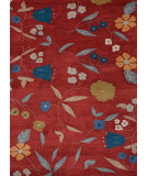 RugStudio presents Jaipur Rugs Midtown By Raymond Waites Ditsy Flowers Md23 Soft Coral Hand-Tufted, Good Quality Area Rug