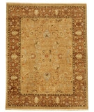 RugStudio presents Rugstudio Sample Sale 53438R Tan/Wood Brown Hand-Knotted, Good Quality Area Rug