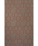 RugStudio presents Jaipur Rugs Maroc Abdel Mr108 Dark Gray Flat-Woven Area Rug