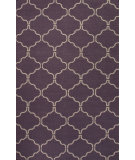 RugStudio presents Jaipur Rugs Maroc Delphine Mr111 Continental Plum/Antique White Flat-Woven Area Rug