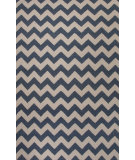RugStudio presents Jaipur Rugs Maroc Lola Mr118 Dark Denim/White Flat-Woven Area Rug