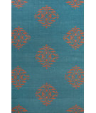RugStudio presents Jaipur Rugs Maroc Nada Mr121 Deep Lake/Merlot Red Flat-Woven Area Rug