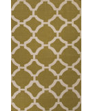 RugStudio presents Jaipur Rugs Maroc Rafi Mr123 Ecru Olive/Antique White Flat-Woven Area Rug