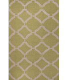 RugStudio presents Jaipur Rugs Maroc Rafi Mr125 Wild Lime/Antique White Flat-Woven Area Rug