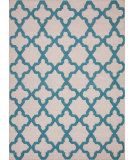 RugStudio presents Jaipur Rugs Maroc Aster Mr55 Antique White / Capri Flat-Woven Area Rug