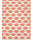 RugStudio presents Jaipur Rugs Maroc Nyasha Mr57 White / Paprika Flat-Woven Area Rug