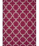 RugStudio presents Rugstudio Sample Sale 74922R Medium Magenta Flat-Woven Area Rug