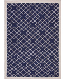 RugStudio presents Jaipur Rugs Maroc Cabin Mr62 Deep Navy Flat-Woven Area Rug