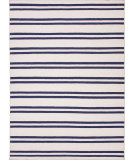 RugStudio presents Jaipur Rugs Maroc Lago Mr63 White / Deep Navy Flat-Woven Area Rug