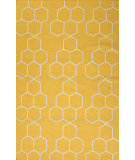 RugStudio presents Jaipur Rugs Maroc Abdel Mr70 Yellow Flat-Woven Area Rug