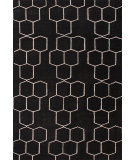 RugStudio presents Jaipur Rugs Maroc Abdel Mr71 Ebony Flat-Woven Area Rug