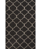 RugStudio presents Jaipur Rugs Maroc Delphine Mr77 Black Olive Flat-Woven Area Rug