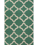 RugStudio presents Jaipur Rugs Maroc Rafi Mr80 Emerald Green Flat-Woven Area Rug