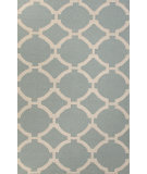 RugStudio presents Jaipur Rugs Maroc Rafi Mr87 Silver Sea Moss Flat-Woven Area Rug