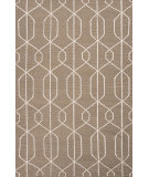 RugStudio presents Jaipur Rugs Maroc Naima Mr92 Gray Brown Flat-Woven Area Rug