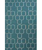 RugStudio presents Jaipur Rugs Maroc Abdel Mr99 Deep Lake Flat-Woven Area Rug