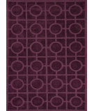 RugStudio presents Jaipur Rugs Metro Circles Mt02 Tulip Purple Woven Area Rug