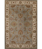RugStudio presents Jaipur Rugs Mythos Zeus My15 Light Blue/Antique White Hand-Tufted, Good Quality Area Rug