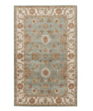 RugStudio presents Jaipur Rugs Mythos Artemis My16 Silver Sea Moss/Antique White Hand-Tufted, Good Quality Area Rug