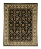 RugStudio presents Jaipur Rugs Aurora Nephi AR06 Ebony/Light Gold Hand-Knotted, Good Quality Area Rug