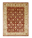 RugStudio presents Jaipur Rugs Aurora Nephi AR12 Medium Red/Medium Ivory Hand-Knotted, Good Quality Area Rug