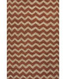 RugStudio presents Jaipur Rugs Naturals Treasure Chevy Nta07 Cloud White & Chili Flat-Woven Area Rug