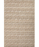 RugStudio presents Jaipur Rugs Naturals Treasure Urbane Nta17 White/Light Peach Sisal/Seagrass/Jute Area Rug