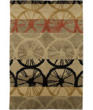 RugStudio presents Jaipur Rugs J2 Ohmi 39 Gray Brown Hand-Knotted, Better Quality Area Rug