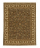 RugStudio presents Jaipur Rugs Opus Caymus OP01 Gray Brown/Soft Gold Hand-Knotted, Better Quality Area Rug