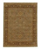 RugStudio presents Rugstudio Sample Sale 53474R Lead Gray/Gray Brown Hand-Knotted, Better Quality Area Rug