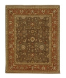 RugStudio presents Rugstudio Sample Sale 53475R Gray Brown/Caramel Hand-Knotted, Better Quality Area Rug
