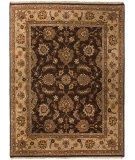 RugStudio presents Jaipur Rugs Opus Morin Op08 Cocoa Brown / Sand Hand-Knotted, Good Quality Area Rug